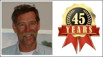FBM Congratulates Joe Brown for 45 Years of Service