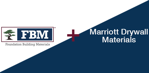 Foundation Building Materials Expands its Presence in the Greater Milwaukee Market with the Acquisition of Marriott Drywall Materials, Inc.